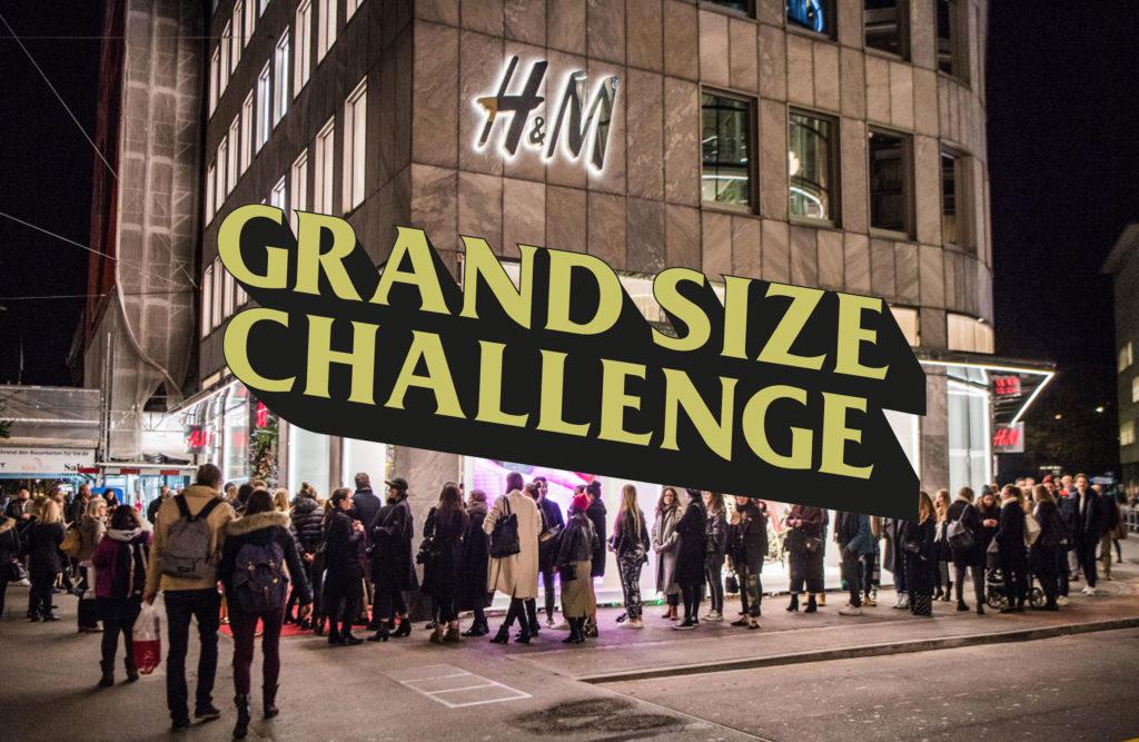 Grand Size Challenge